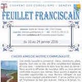 Feuillet Franciscain